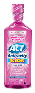 ACT Anti Cavity Rinse Bubble Gum