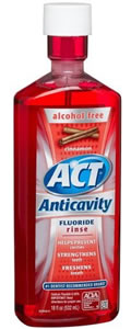 ACT Anti Cavity Rinse 18 fl. oz.-Cinnamon