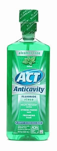 ACT Anti Cavity Rinse 18 oz.-Mint
