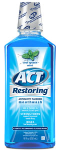 ACT Restoring Mthwsh 18 fl. oz.- Cool Splash Mint