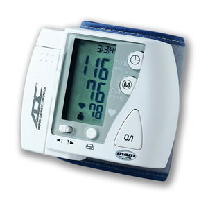 ADC Advantage 6016 digital Wrist Blood Pressue monitor