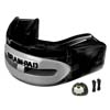 Mouth Guards - Brain-Pad Pro Plus WPR-2004 Black Gray Mouthguards