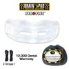Mouth Guards - Brain-Pad Pro Plus WPR-2004 Clear Mouthguards