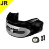 Mouth Guards - Brain-Pad Pro Plus WPR-2004 Black Gray Junior Mouthguards