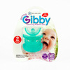 Branam Baby Ortho-Gibby Pacifier for Toddlers (Ages 1-2) Green