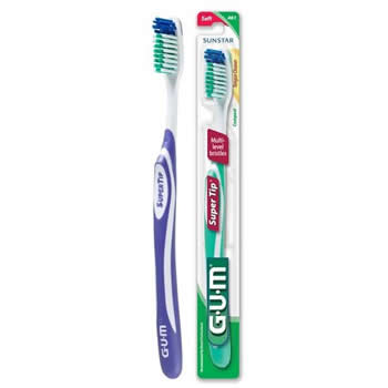 Butler GUM Super Tip Toothbrush Compact Soft 461