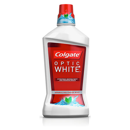 Colgate Optic White Mouthwash Sparkling Fresh Mint