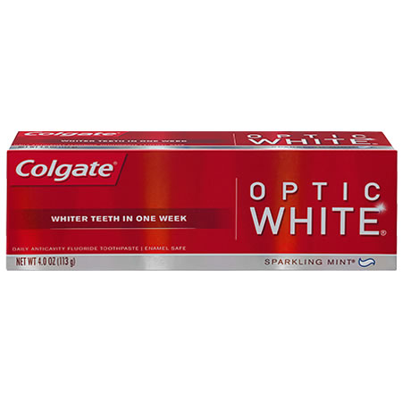 Colgate Optic White Toothpaste Sparkling Mint