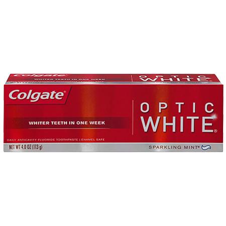 Colgate Optic White Toothpaste Sparkling Mint
