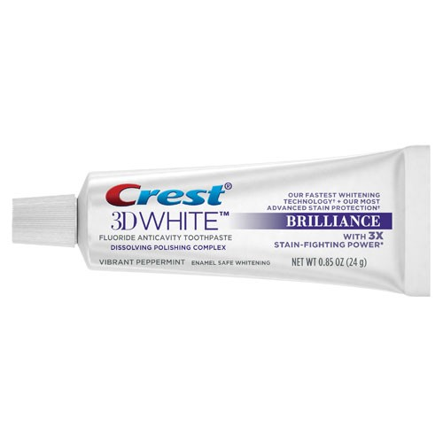 Crest 3D White Brilliance paste .85oz