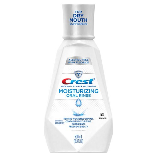 Crest AntiCavity Moisturizing Oral Rinse, 500ml