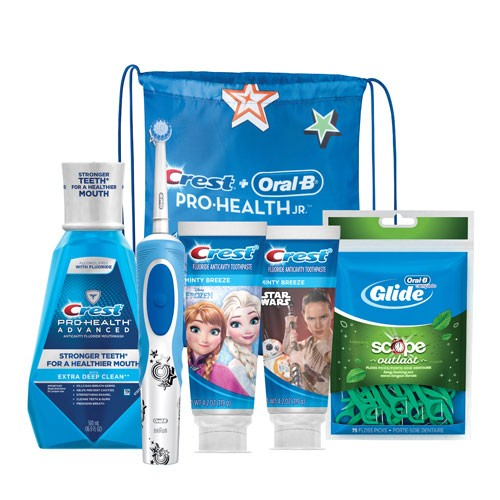 Crest Oral-B Kids 8+ Power Bundle