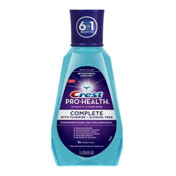 Crest Pro-Health Complete Rinse Fresh Mint 500ml