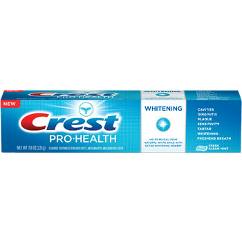 Crest Pro-Health Whitening Gel Toothpaste - Fresh Clean Mint