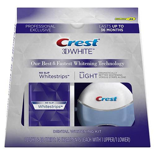 Crest 3D White Whitestrips Professional Supreme + light