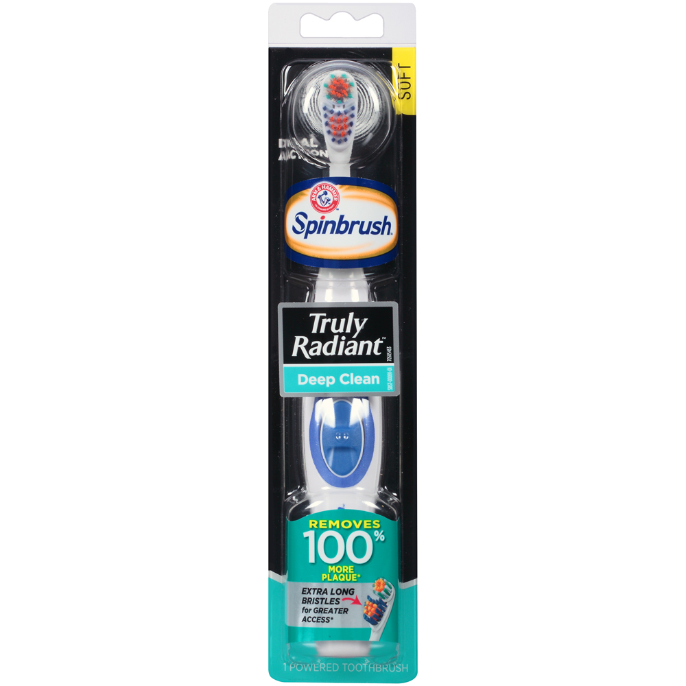 Arm & Hammer Spinbrush Truly Radiant Deep Clean Powered
