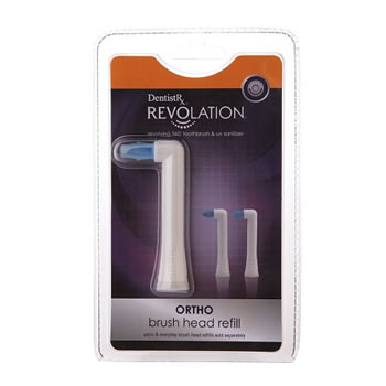 DentistRx Revolation Ortho Brush Head Refill