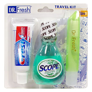 Dr. Fresh Travel Kit 3 in 1
