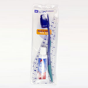 Dr. Fresh Travel Kit  Toothbrush BrushCover and Travel Bag