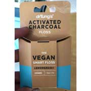 Dr. Tung's Activated Charcoal Floss – 30yds - Vegan