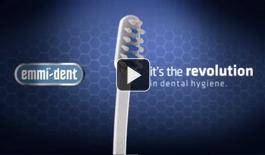 Emmi-dent video ultrasonic toothbrush