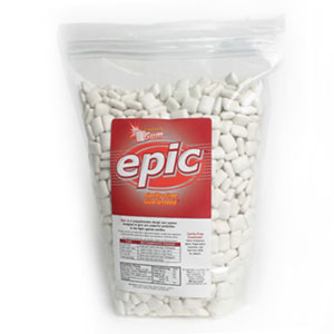 Epic Cinnamon Xylitol Gum. 100% Xylitol Sweetened Chewing Gum, Cinnamon Flavor Bulk Pack 1000 ct bag