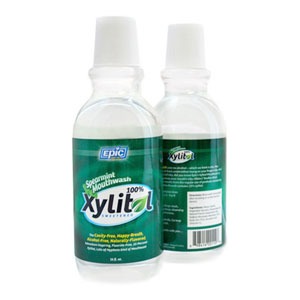 Epic Xylitol Spearmint Mouthwash