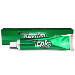 Epic Xylitol Toothpaste with fluoride