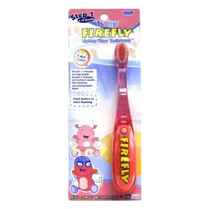 Firefly Baby toothbrush step 1