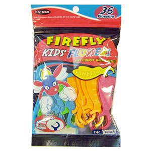 Firefly Kids' Flossers 30 ct