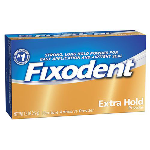 Fixodent Extra Hold Adhesive Powder 1.6oz