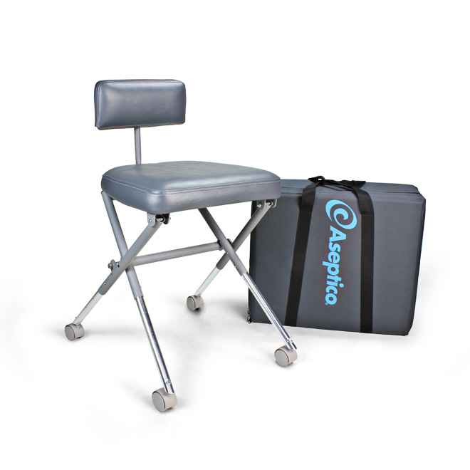 Aseptico AseptiStool Portable Dental Operator's Stool Part #: ADC-08CF