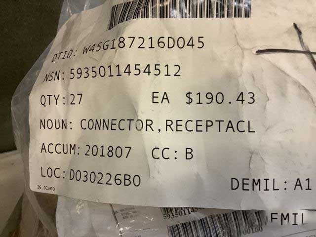 CONNECTOR,RECEPTACL 10-087322-02S