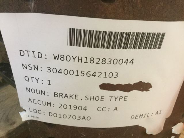 Bendix 331227 Brake Shoe Set