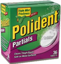 Polident Partial cleaner