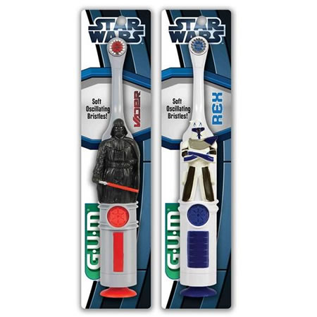 GUM Star Wars Power Toothbrush 4020