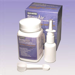 SinuAir™ Formulated Powdered Nasal Moisturizer & Irrigation Solution