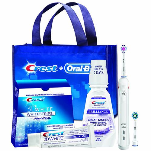 Crest Oral-B Whitening Electric Rechargeable System with Crest 3D White