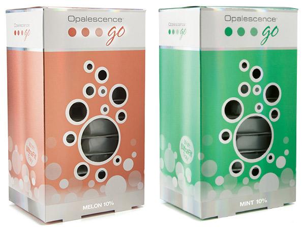 Opalescence Go Hydrogen Peroxide prefilled trays