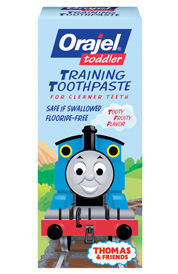 Orajel Toddler Training Toothpaste Thomas and Friends