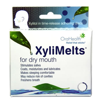 XyliMelts for Dry Mouth - Mild Mint