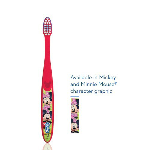 Oral-B Kids Mickey & Minnie toothbrush 2-3yr