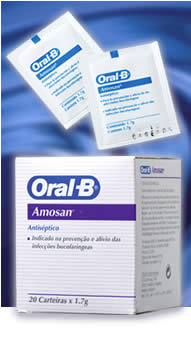 Oral-B Amosan Oxygenating Mouthrinse