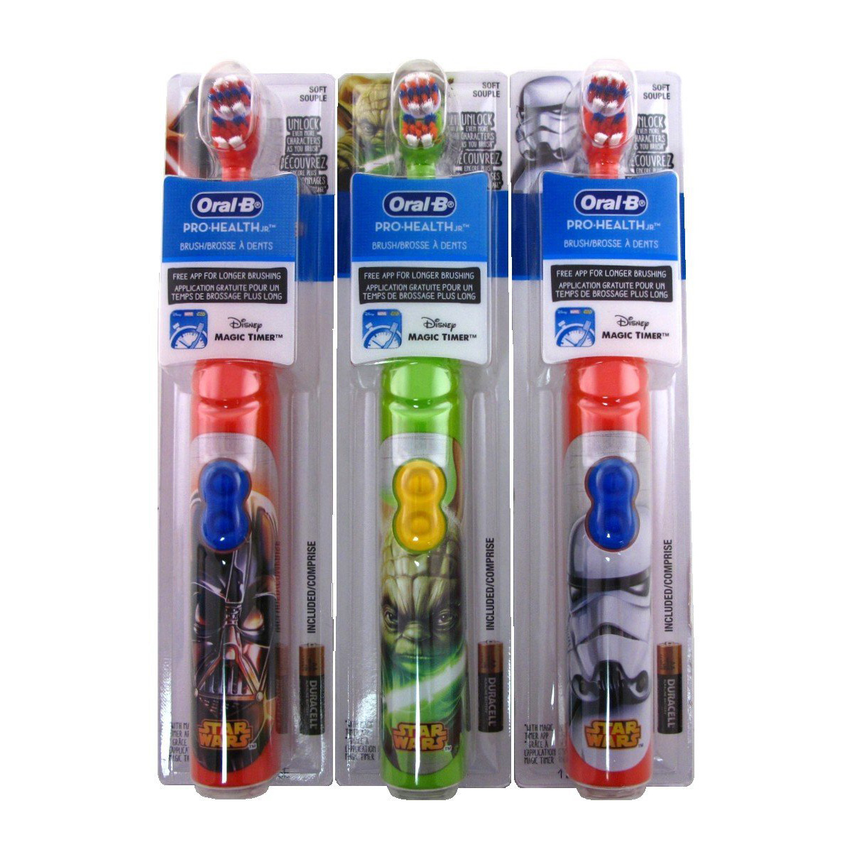 Oral-B Pro-Health Jr. Star Wars Battery Toothbrush Various C