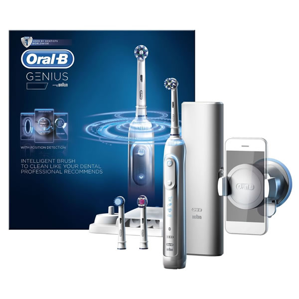 Oral-B GENIUS Pro Power Toothbrush with Bluetooth Connectivity