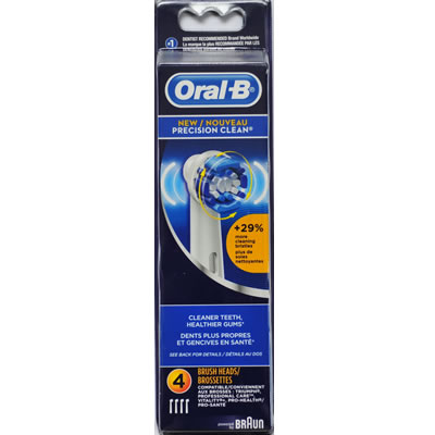 Oral-B Precision Clean EB20 4 pack