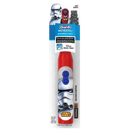 Oral-B Pro-Health Jr Toothbrush Star Wars Storm Trooper