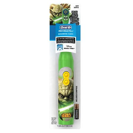 Oral-B Pro-Health Jr Toothbrush Star Wars Yoda