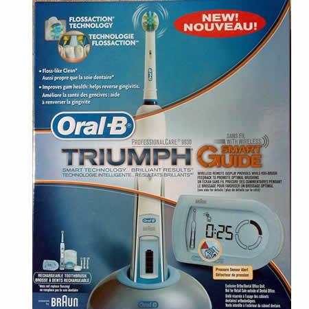 Oral B Triumph 5000 Dual Handle