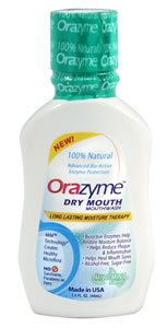 Orazyme Dry Mouth Mouthwash 1.5oz